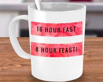 Intermittent Fasting 16:8 Protocol Mug
