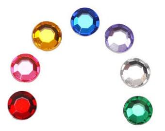 Adhesive flat gemstones - Sticker gem.