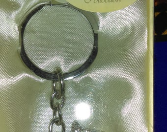 Leonardo Collection Diamonte Scottie Dog Keyring