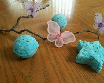 Blue Lavender Bath Bomb