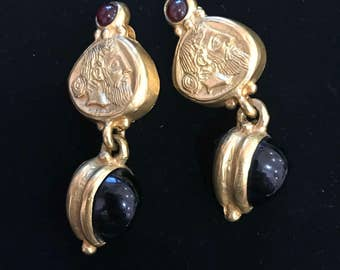 Set of Vintage drop earrings