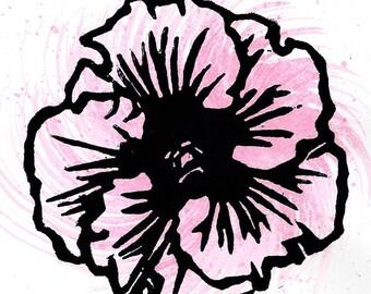 Hibiscus Print 02