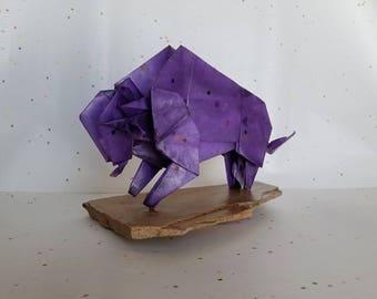 Washi Buffalo (purple with multi-colored squares)