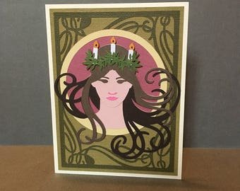 Candle Crown Card