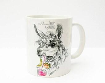 Gift Cup Alpaca amazing coffee mug TS223