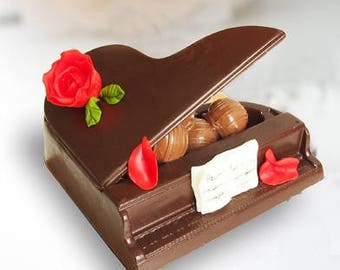 Unique gifts - Edible chocolate - Original gift - Gift for a special person - Gift for clients - Corporate Gift - Gift for musician