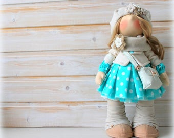 Tilda Fabric Doll