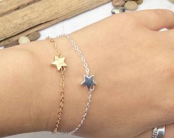 Sweet Star Chain Bracelet m13