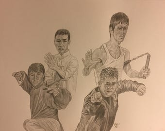 Four Kung Fu Masters