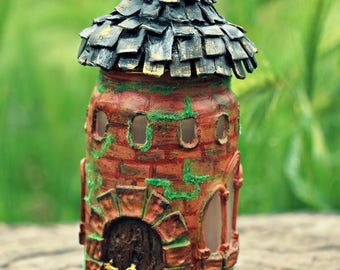 Lantern Fairy House Castle Tower