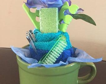 Green, Iris Nail Set