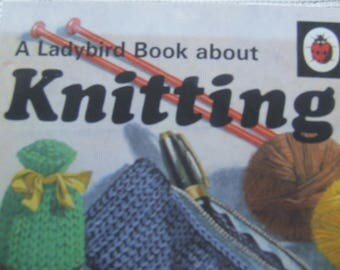 Vintage Lady Bird Book about Knitting