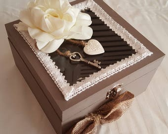 Box decorative storage