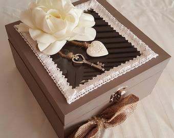Box decorative storage