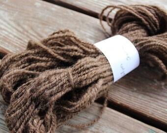 68 yards of 2 ply Homespun Shetland Yarn - Bonnie