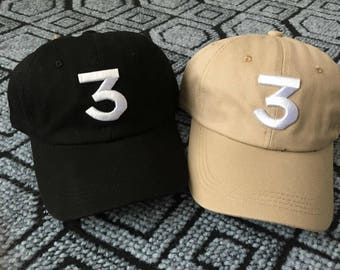 Chance the Rapper Black or Tan hat