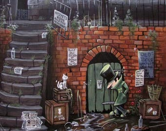 Limited Edition Giclee Print 'At Hatchets'
