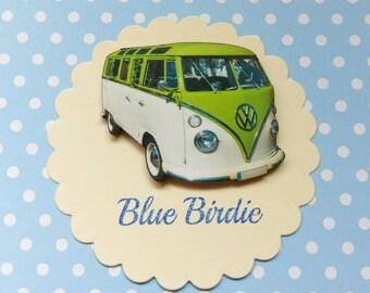 SALE! Camper van brooch camper van jewelry camper van jewelley camper van badge VW camper van gifts vintage camper van brooch