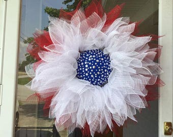 Red, White, and blue just in time for Memorial Day