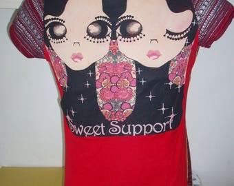 knitwear woman lady vintage CUSTO barcellona tg 3