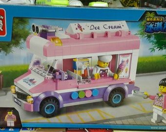 Ice Cream Van Educational Blocks