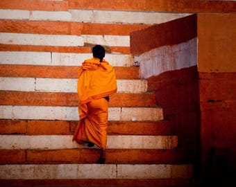 Monk at the Ganges