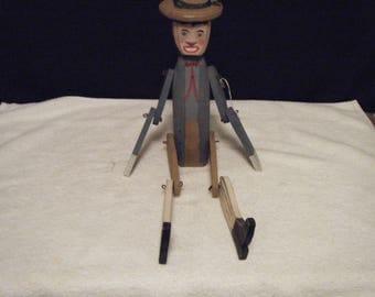 Hand made Wooden Puppet