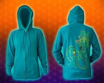 Dragonita UV silk screen Print by Ihtianderson
