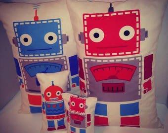 Robot robot family soft toy robot family gift
