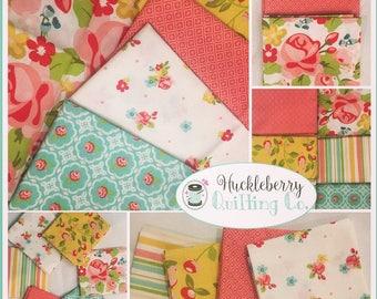 Hello Gorgeous Fabric 6 Fat Quarter bundle My Mind's Eye Riley Blake Designs Fabrics