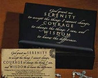 The Serenity Prayer Box