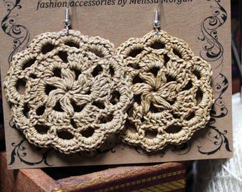 Handmade Crocheted Earrings