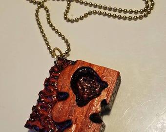 pauduk wood skull necklaces. skulls,pendnats,wood,charms