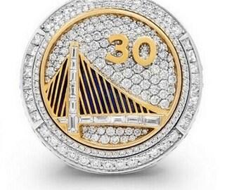 Custom Replica Golden State Warriors 2015 Championship Ring