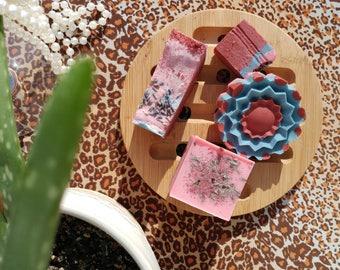 Handmade soaps * floral Champagne * (goat's milk)