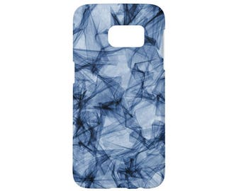 Samsung Galaxy S7 Case Blue Abstract Galaxy S6 Case Galaxy S5 Case Galaxy S4 Case Galaxy S3 Note 5 Note 4 Note 3 Note 2