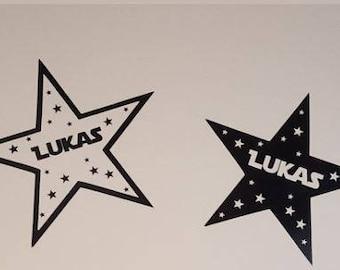 Bumper stickers - star