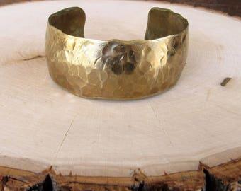 Brass Domed Cuff
