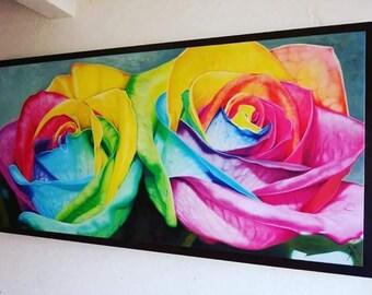 Roses Rainbow