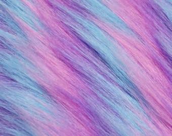 Multi Colored Fashion Faux Fur Rugs