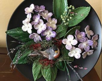 Cold Ceramic Flower Plate Arrangement