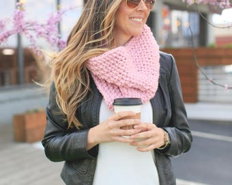 Chunky, Infinity Cowl Scarf *The Savannah*