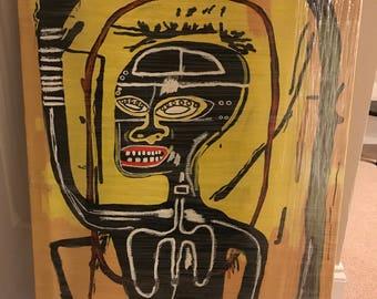 "Jean Michael Basquiat ""Flexible"""