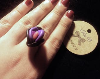 Vagina vulva Flower ring