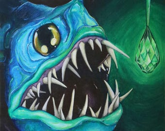 Emerald Angler Fish