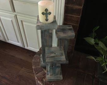 Tower candle holder set of 3