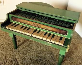 Vintage Antique Schoenhut Toy Piano