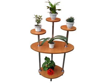 "Free ship! Plant stand ""London"". Flower stand - Indoor plant stands - Plant holder - Plant table - Stand for flowers - Flower shelf"