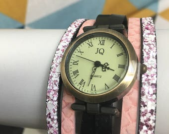 Watch original real by leather jewelry lilie