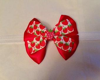 Strawberry design headband